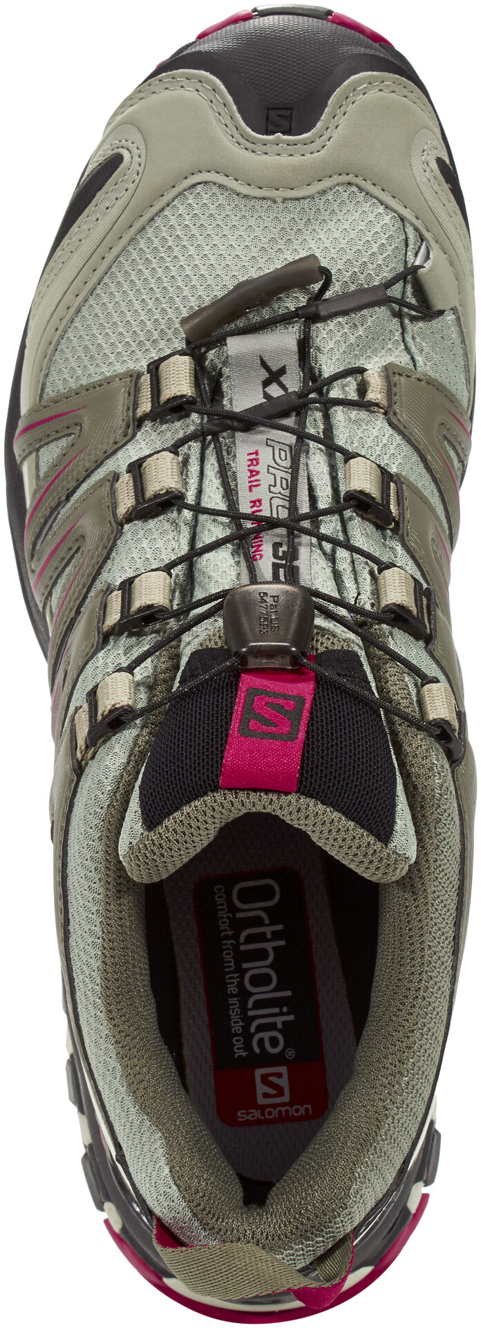 Buy Salomon XA Comp 8 Grey Running Shoes for Women at Best